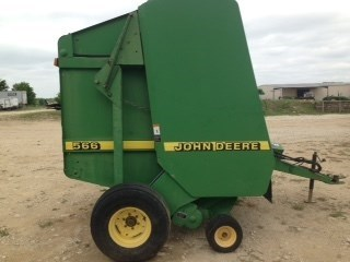 1997 John Deere 566 Baler-Round For Sale