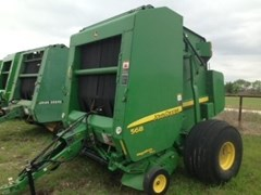 Baler-Round For Sale:  2007 John Deere 568
