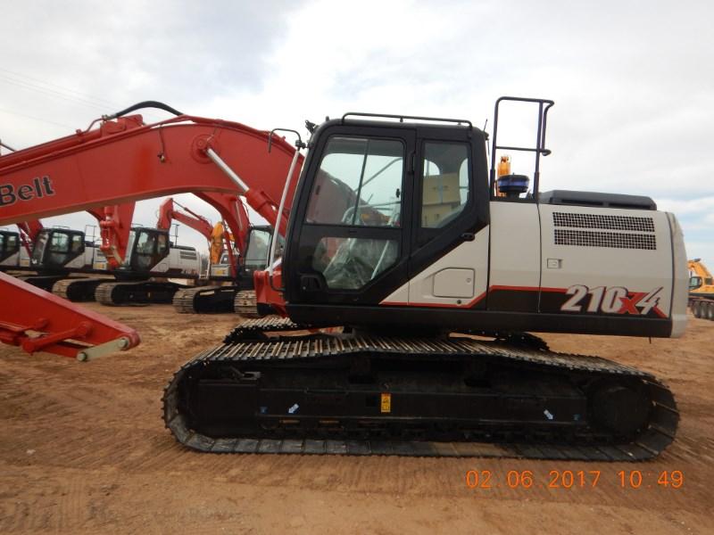 2017 Link Belt 210X4 Excavator-Track