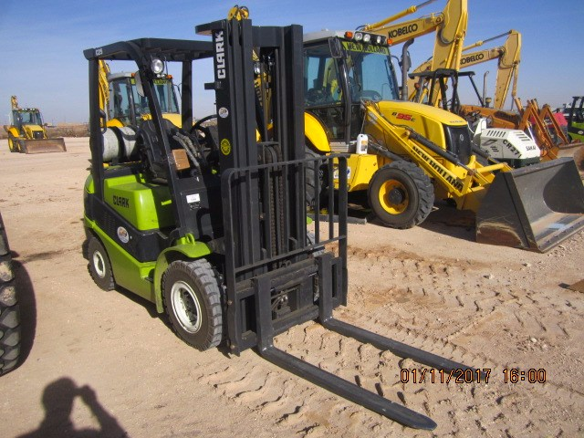 2016 Clark  C25 Lift Truck/Fork Lift-Industrial