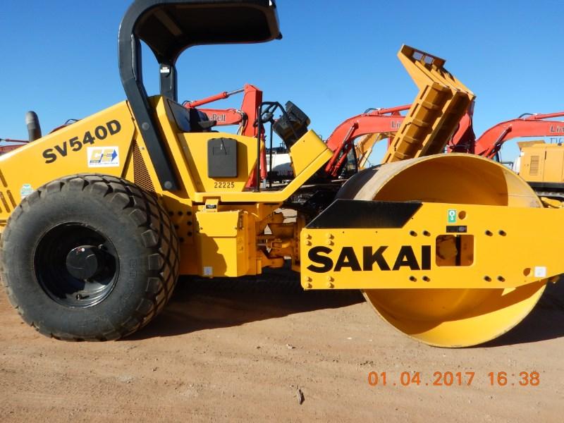 2016 Sakai SV540D Rollers/Compactors