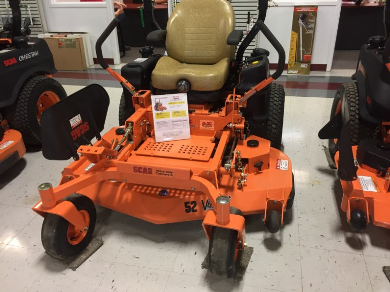 2016 Scag STC52V-22FX Riding Mower For Sale