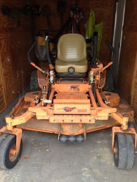2013 Scag STT61V-791DFI-SS Riding Mower For Sale