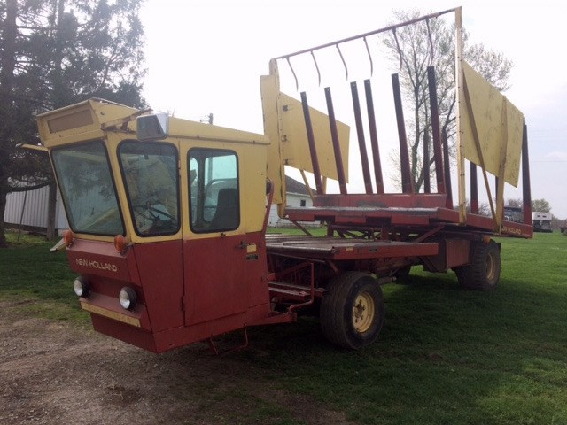 1978 New Holland 1049 Bale Wagon-Self Propelled For Sale