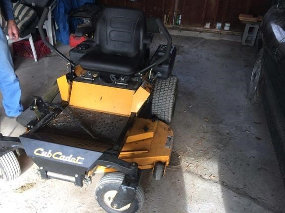 2009 Cub Cadet ZF 48F Riding Mower For Sale