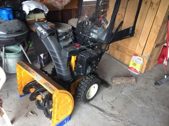 2015 Cub Cadet 2X 528SWE Snow Blower For Sale