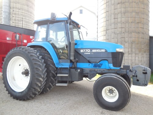 Tractor For Sale:  1999 New Holland 8770 , 190 HP
