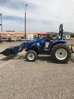 Tractor :  2015 New Holland BOOMER 46D