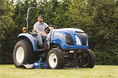 Tractor - Compact For Sale:  2017 New Holland BOOMER 45