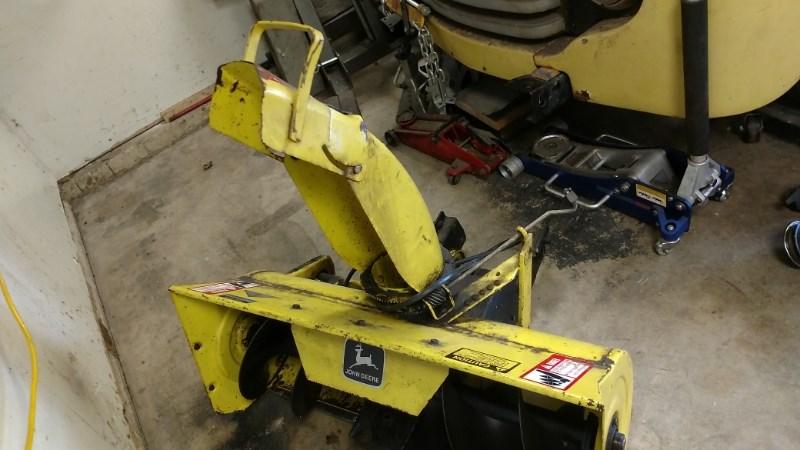 Photos of John Deere 38 Snow Blower For Sale » AHW LLC