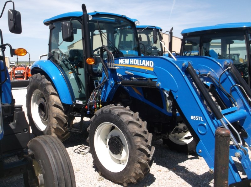 New Holland 75hp 4x4 Tractors : New holland t deluxe wd cab tractor for