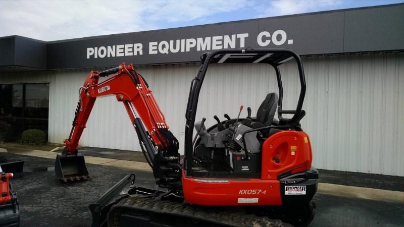 2015 Kubota KX057-4R1A Excavator-Track For Sale