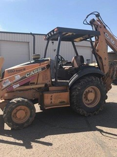 Loader Backhoe For Sale:  2004 Case 580SM