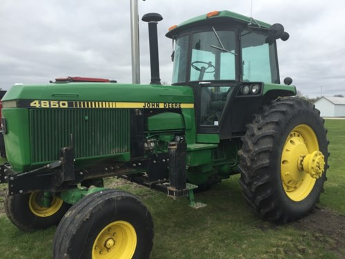 Tractor For Sale:  1988 John Deere 4850 , 210 HP