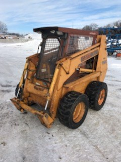 Skid Steer For Sale 1989 Case 1845C , 60 HP