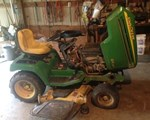 Riding Mower For Sale: 2001 John Deere 345, 20 HP