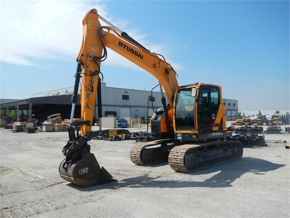 2016 Hyundai HX145LCR Excavator-Track