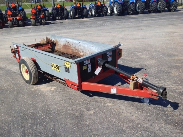 H & S 80 Manure Spreader-Dry/Pull Type For Sale