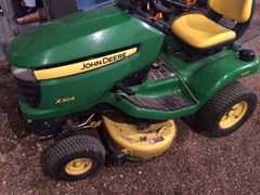 Riding Mower For Sale:  2010 John Deere X304 , 17 HP
