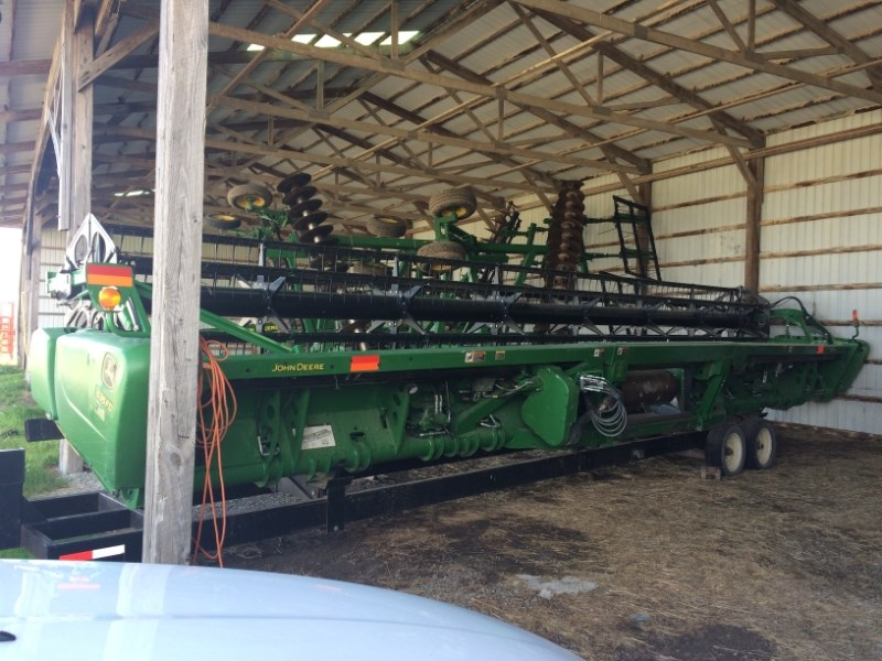 2013 John Deere 635 FD Header-Flex/Draper For Sale