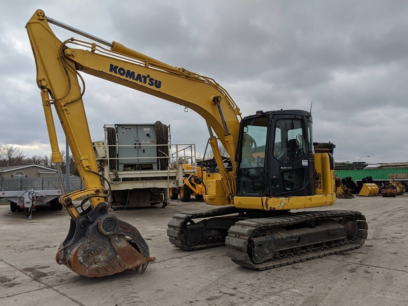 2005 Komatsu PC128US-2E Excavator For Sale