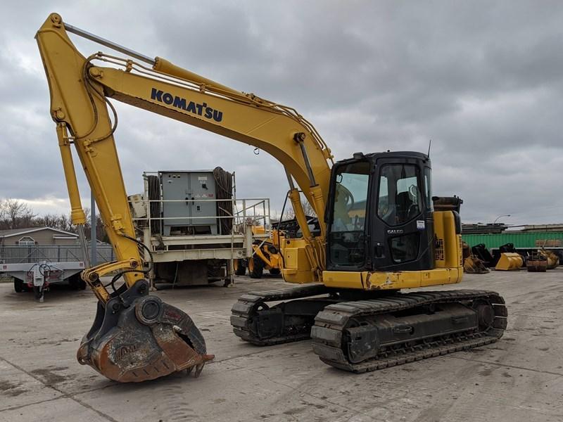 2005 Komatsu PC128US-2E Excavator For Sale