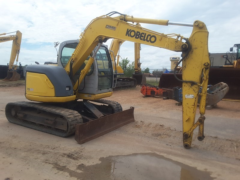 2006 Kobelco SK70SR-1E Excavator For Sale
