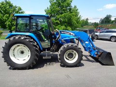 Tractor For Sale 2005 New Holland TL100A , 85 HP
