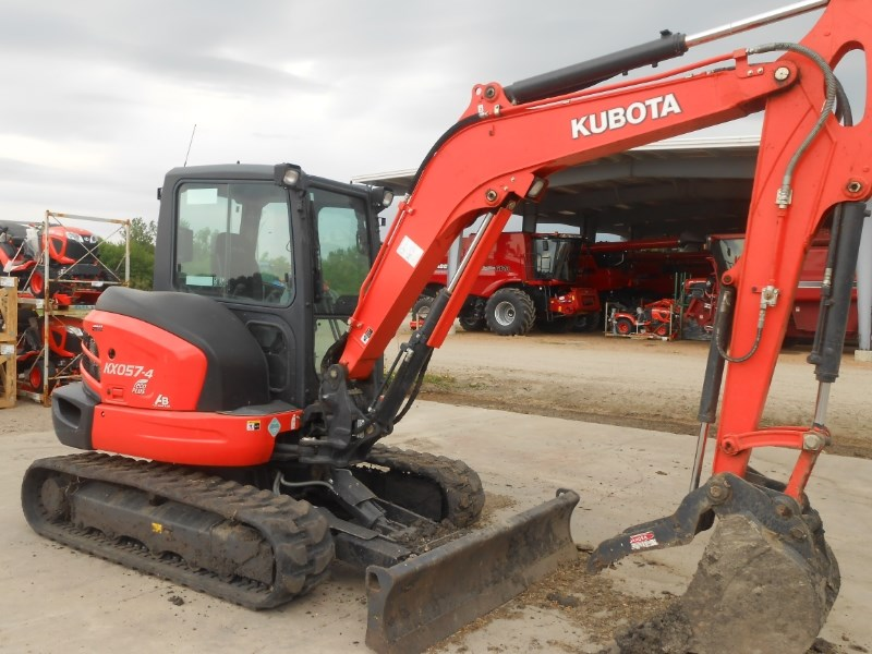 2013 Kubota KX0574R3A Excavator-Track For Sale