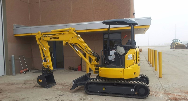 2017 Kobelco SK30SR-6E Excavator For Sale