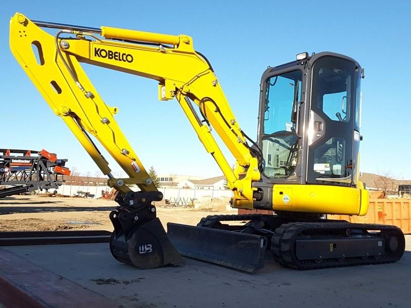 2017 Kobelco SK35SR-6E Excavator For Sale