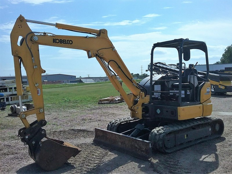 2017 Kobelco SK45SRX-6E Excavator Mini For Sale