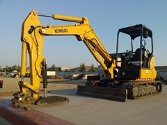 Excavator Mini For Sale:  2017 Kobelco SK45SRX-6E