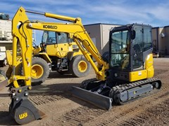 Excavator For Sale:  2017 Kobelco SK45SRX-6E