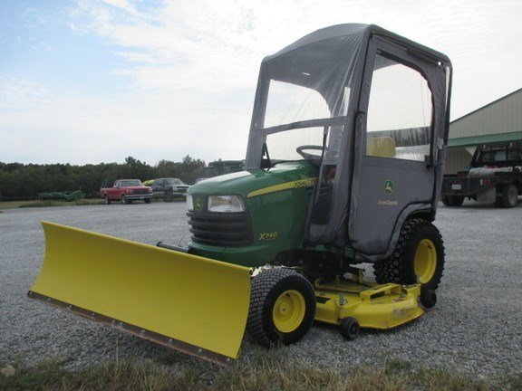 2012 John Deere X740 Riding Mower For Sale