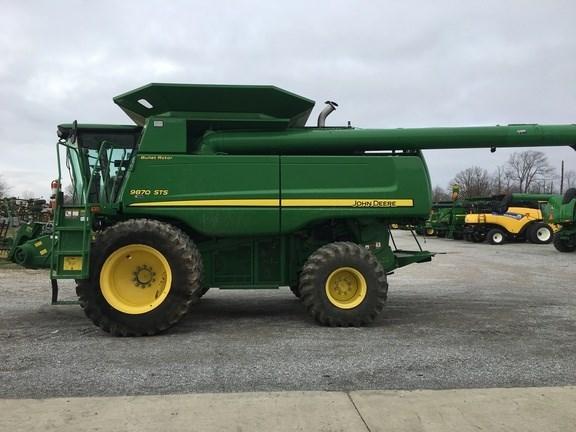 2009 John Deere 9870 STS Combine For Sale