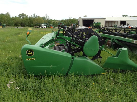 2014 John Deere 635FD Header-Flex/Draper For Sale