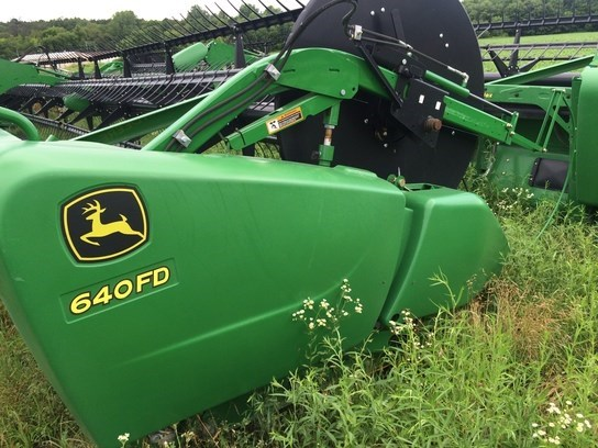 2014 John Deere 640FD Header-Draper/Flex For Sale