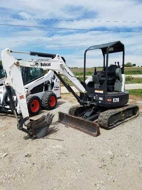 2014 Bobcat E26 Excavator-Mini For Sale