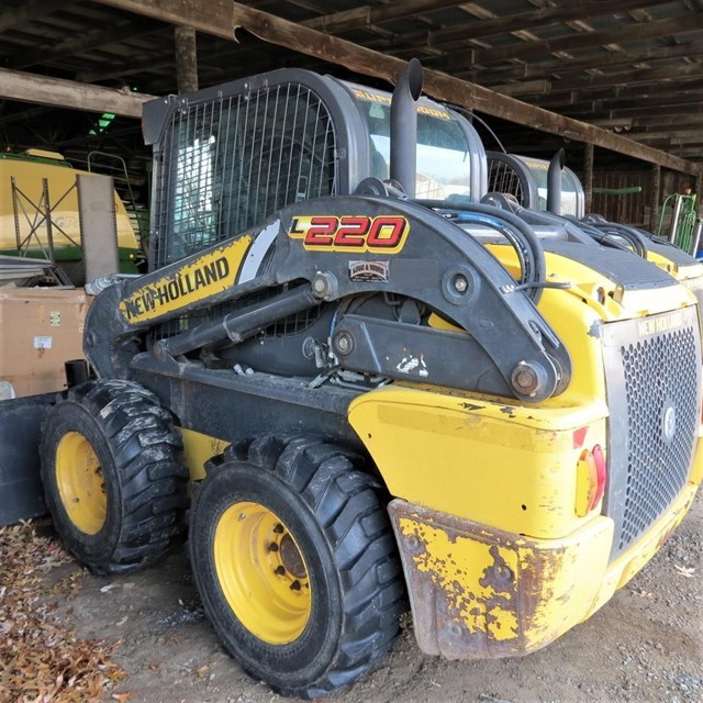 2014 New Holland L220 Skid Steer For Sale