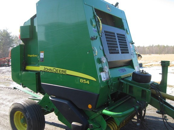 2011 John Deere 854 Silage Special Baler-Round For Sale