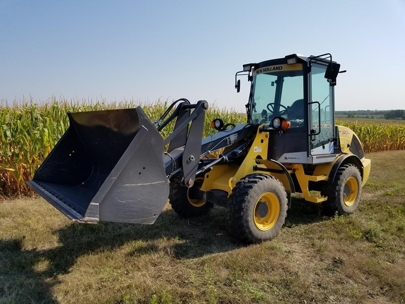 2013 New Holland W50B TC Wheel Loader For Sale