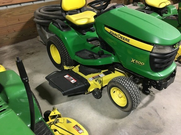 2010 John Deere X500 Riding Mower For Sale