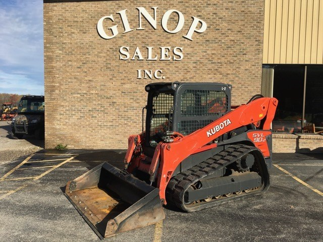 2014 Kubota SVL902HFC Skid Steer For Sale