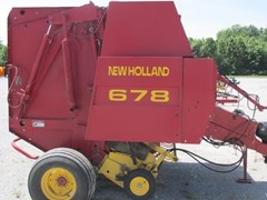 Baler-Round For Sale 2002 New Holland 678