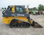 Skid Steer-Track For Sale: 2014 John Deere 323E