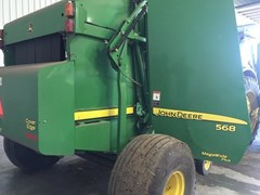 Baler-Round For Sale:  2010 John Deere 568