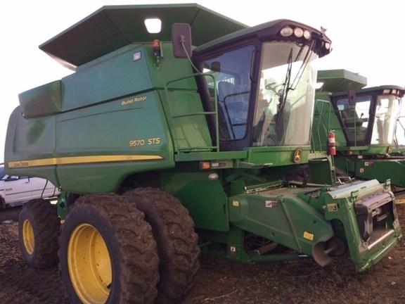 2011 John Deere 9570 STS Combine For Sale