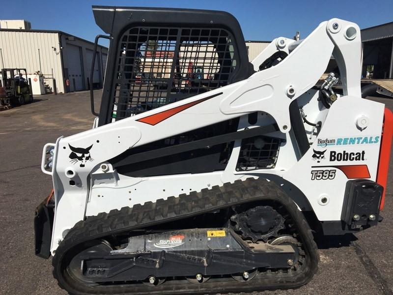 Bobcat T595 T4 Skid Steer-Track