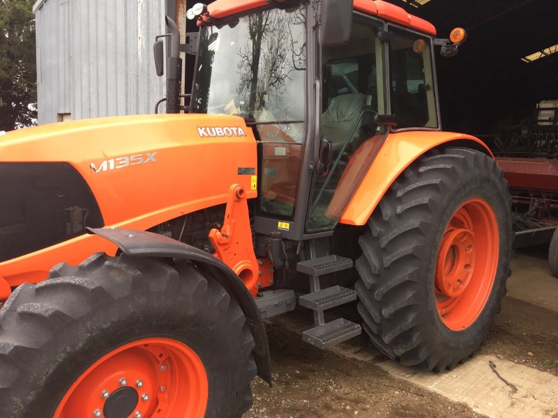 2011 Kubota M135X Tractor For Sale
